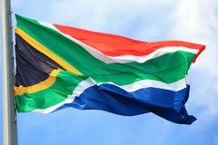 Flagga av Republikenet Sydafrika Royaltyfri Bild