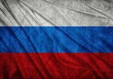 Flagga av Ryssland Royaltyfri Bild