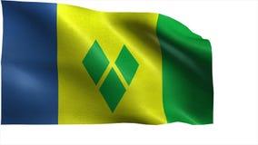 Flagga av Saint Vincent och Grenadinerna - ÖGLA