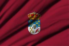 Flagga av Salamanca Arkivbilder