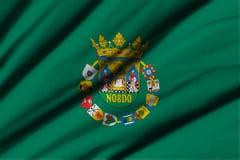 Flagga av Sevilla Fotografering för Bildbyråer