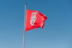 Flagga av Silves Fotografering för Bildbyråer