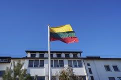 Flagga av staten av Litauen Royaltyfri Fotografi