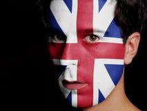 Flagga av Storbritannien Fotografering för Bildbyråer