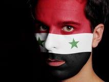 Flagga av Syrien Arkivfoto