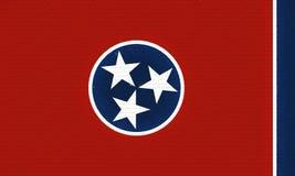 Flagga av Tennessee Wall Fotografering för Bildbyråer