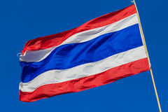 Flagga av Thailand Arkivbilder