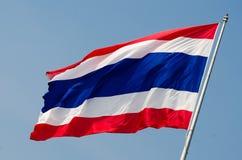 Flagga av Thailand Arkivfoto