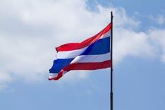 Flagga av Thailand Royaltyfri Bild