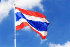 Flagga av Thailand Royaltyfri Fotografi