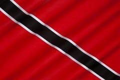 Flagga av Trinidad och Tobago Royaltyfri Fotografi