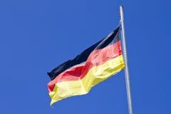 Flagga av Tyskland Fotografering för Bildbyråer