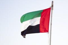 Flagga av UAE Arkivbilder