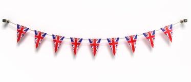 Flagga av UK Arkivbild