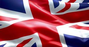 Flagga av Union Jack, UK England, Förenade kungariket flagga Arkivbild