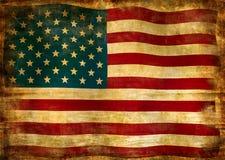 Flagga av USA Royaltyfri Bild