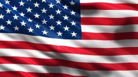 Flagga av USA den sömlösa öglan stock illustrationer