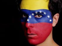 Flagga av Venezuela royaltyfri foto