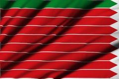 Flagga av Zamora Arkivfoto