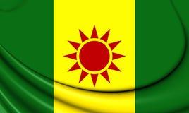 Flagga av Zazaistan royaltyfri illustrationer
