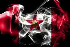 Flagga för Birmingham stadsrök, Alabama stat, Förenta staterna av Amer stock illustrationer