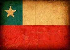 flagga för chilenare 02 Arkivbilder