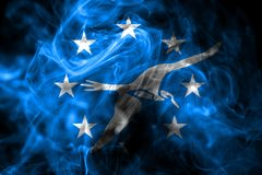 Flagga för Corpus Christistadsrök, Texas State, Förenta staterna av f.m. vektor illustrationer