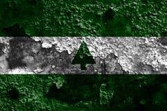 Flagga för grönt bältestadsrök, Maryland tillstånd, Förenta staterna av Amer Arkivfoton