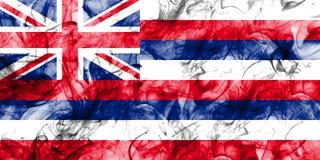 Flagga för Hawaii statrök, Amerikas förenta stater Arkivbilder
