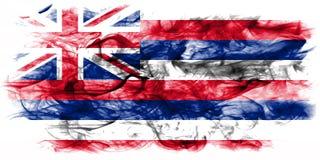 Flagga för Hawaii statrök, Amerikas förenta stater Arkivfoto
