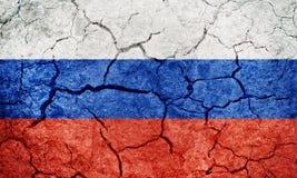 Flagga för rysk federation royaltyfria foton