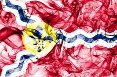 Flagga för Saint Louisstadsrök, Missouri stat, Amerikas förenta stater Royaltyfri Fotografi