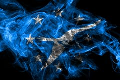 Flagga f?r Corpus Christistadsr?k, Texas State, Amerikas f?renta stater vektor illustrationer