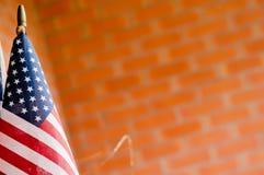 Flagga flagga av för Amerikas förenta stater, Amerika Arkivfoton