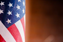 Flagga flagga av för Amerikas förenta stater, Amerika Royaltyfria Foton