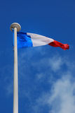 flagga france Royaltyfri Fotografi