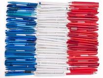 flagga france royaltyfri foto