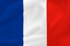flagga france stock illustrationer