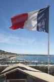 flagga france Fotografering för Bildbyråer