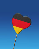 flagga germany Royaltyfria Foton