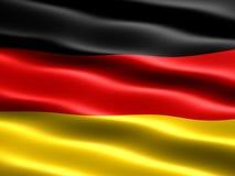 flagga germany Fotografering för Bildbyråer