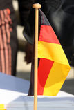 flagga germany Arkivfoto