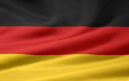 flagga germany Arkivbilder