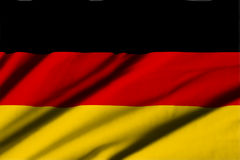 flagga germany Royaltyfri Fotografi