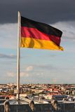 flagga germany Royaltyfria Bilder