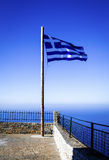 flagga greece Arkivbilder