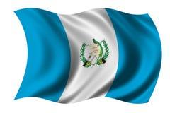 flagga guatemala Arkivfoto