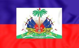 flagga haiti vektor illustrationer
