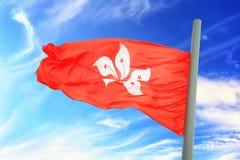 flagga Hong Kong Arkivfoton