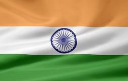 flagga india Arkivbild